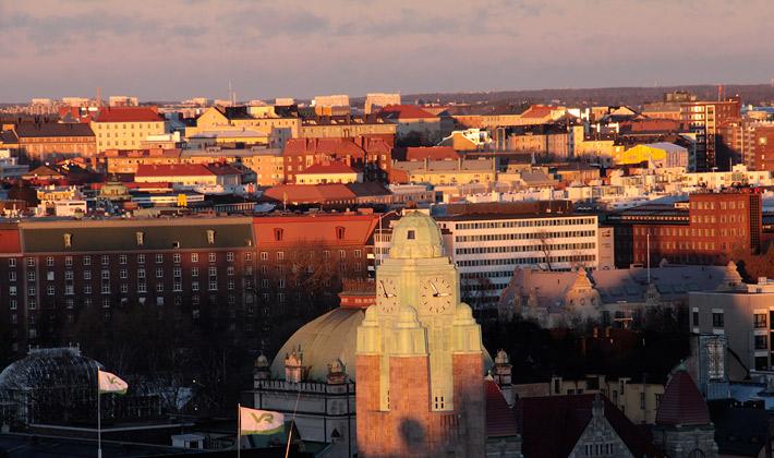 Ateljee bar Helsinki view